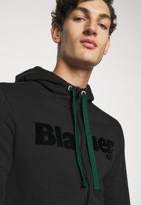 Blauer - APERTA CAPPUCCIO - Zip-up hoodie - black - 3