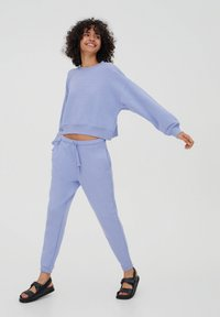 PULL&BEAR - Tracksuit - mottled purple - 0