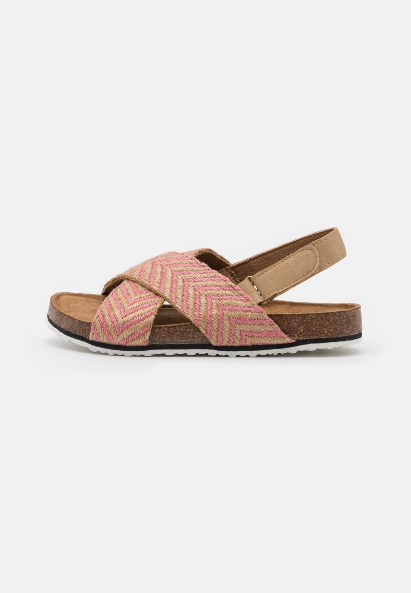 Cotton On - THEA CROSSOVER - Sandals - marshmallow/pink
