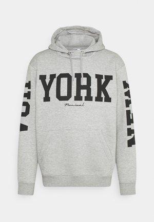 USA HOOD - Sweatshirt - grey melange