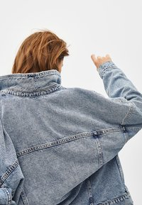 Bershka - Denim jacket - blue denim - 3