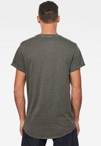 G-Star - LASH ROUND SHORT SLEEVE - Basic T-shirt - asfalt gd - 1