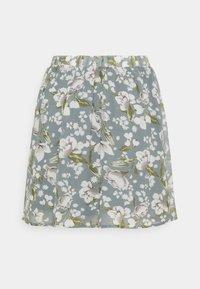 Vila - VIMILINA MINI SKIRT - Mini skirt - ashley blue/white - 1