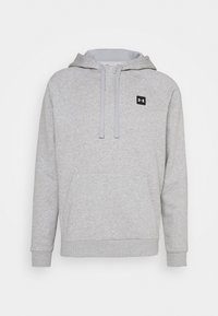 Under Armour - RIVAL  - Bluza z kapturem - mod gray light heather - 3