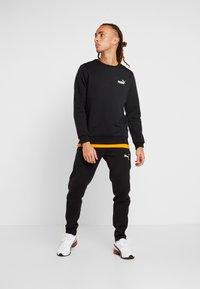 Puma - LOGO CREW - Sweatshirt - black - 1