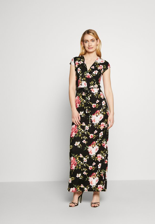FLORAL WRAP DRESS - Robe d'été - multi