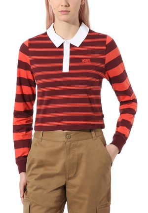WM STRIPE BLOCK POLO - Polo - port royale