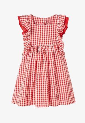 Day dress - rot/weiß kariert