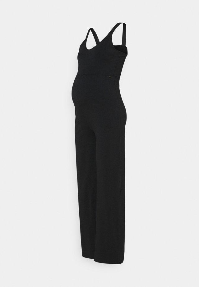 FLARED - Jumpsuit - black