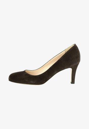 BIANCA - Classic heels - dark brown