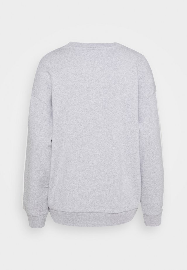 BRANDED CREW - Felpa - heather gray