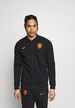 NIEDERLANDE KNVB - Equipación de selecciones - black/safety orange