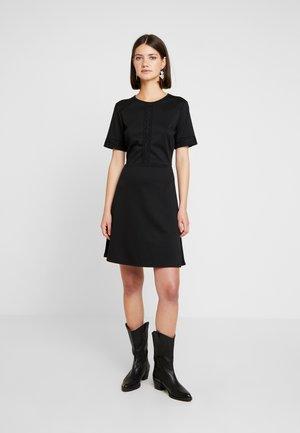 VITINNY LACE DRESS - Vestito di maglina - black