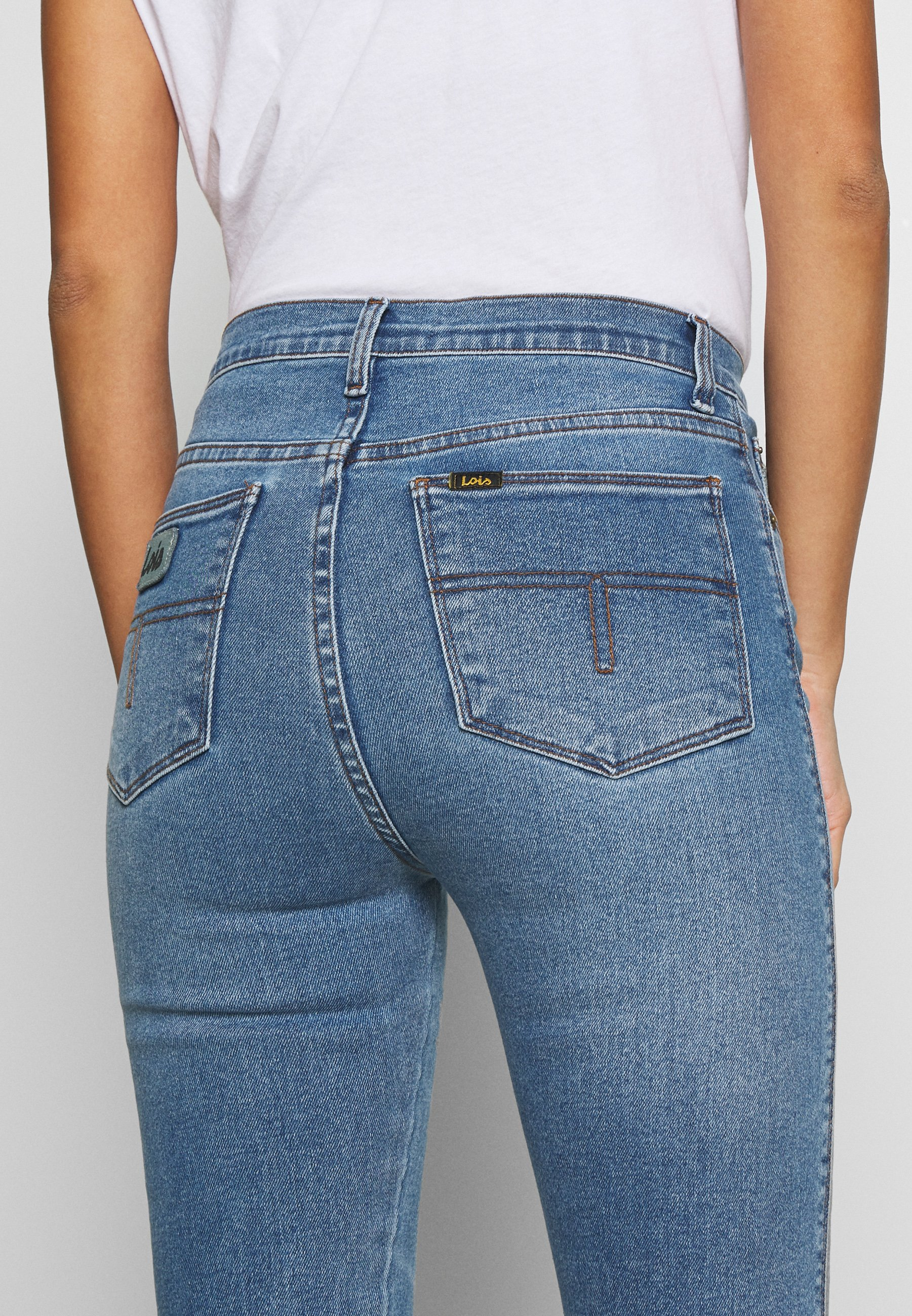 Blue Jeans  Lois  Skinny Jeans - Dameklær er billig