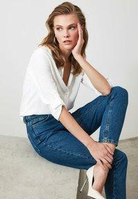 Trendyol - Button-down blouse - white - 4