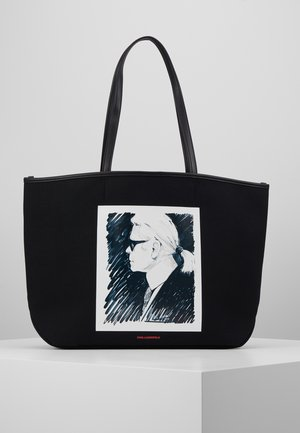 LEGEND TOTE - Shopping Bag - black
