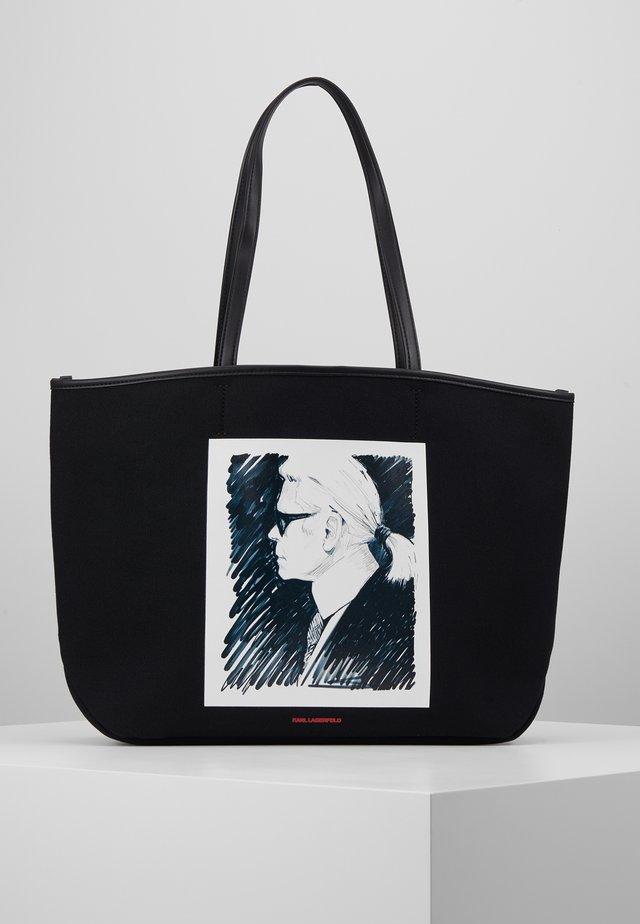 LEGEND TOTE - Shopping Bag - black