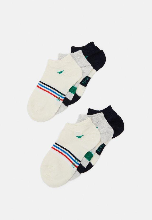 COLORFUL STRIPE SNEAKER 6 PACK - Socks - dark navy