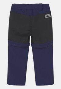 LEGO Wear - PAYTON 2-IN-1 UNISEX - Outdoorové kalhoty - dark navy - 1