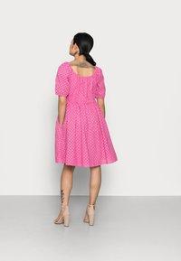 YAS Petite - YASVOLANT DRESS  - Cocktail dress / Party dress - azalea pink - 2