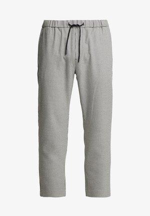 MINI DOGSTOOTH SMART - Pantalon classique - black/white