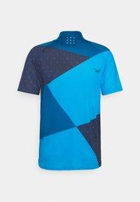 Triple2 - MEN - T-shirt print - mykonos blue - 1