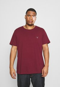 GANT - PLUS THE ORIGINAL - Basic T-shirt - port red - 0