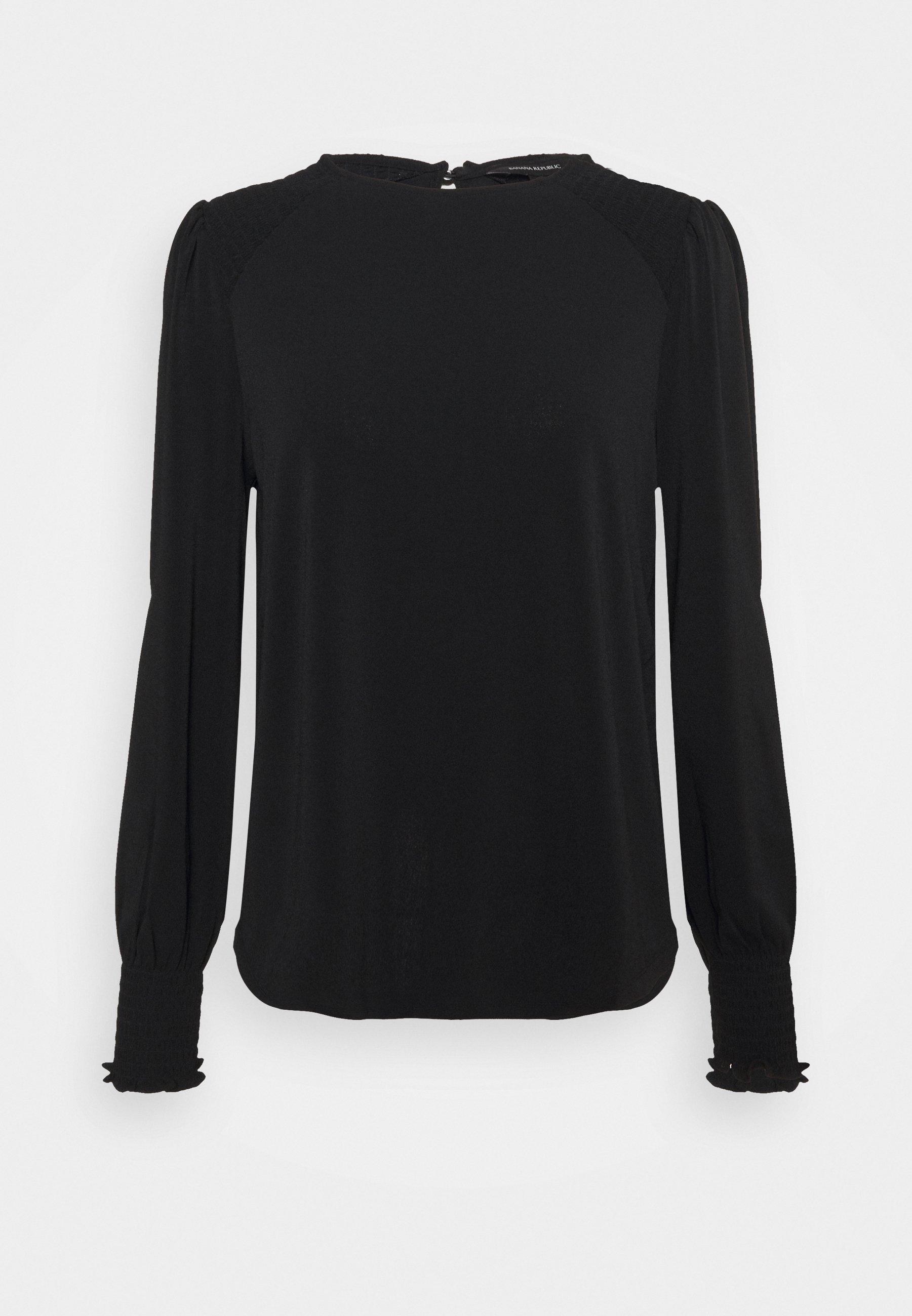 Women SMOCK SHOULDER - Long sleeved top
