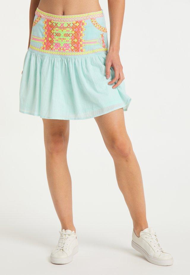 A-line skirt - minze