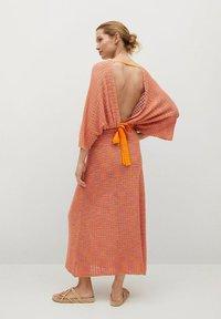 Mango - FAIRY - Strikket kjole - orange - 1