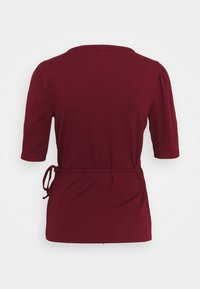 GAP - WRAP - T-shirts - dark red