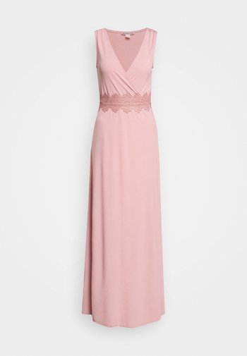 Maxi šaty - pale mauve