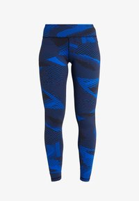 Reebok - LUX GEO - Leggings - blue - 3