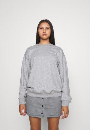 SCRIPT   - Sweatshirt - grey heather/white