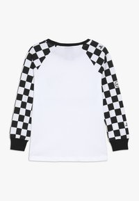 Hype - KIDS CHECKERBOARD - Camiseta de manga larga - white/black - 1