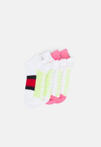 KIDS SNEAKER SPORT 4 PACK UNISEX - Socks - white
