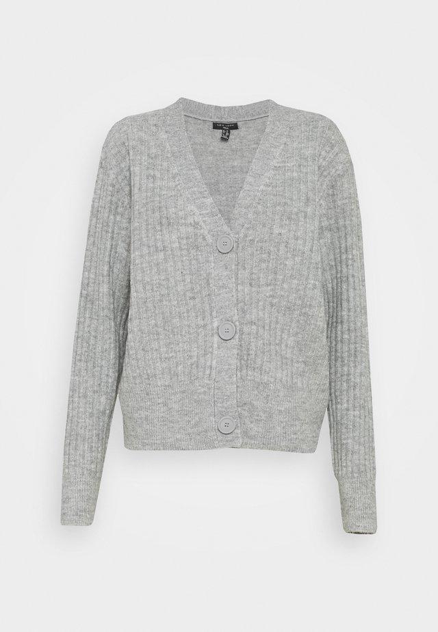 CARDIGAN - Cardigan - mid grey