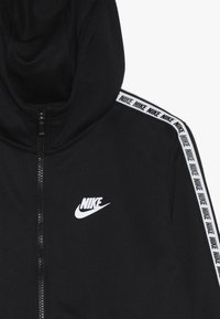 Nike Sportswear - HOODIE TAPED - Trainingsvest - black/white - 4
