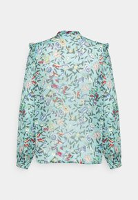 Esqualo - BLOUSE FLOWER GARDEN  - Blouse - green - 1