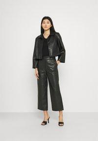 Stylein - VIVIEN - Kalhoty - black - 1
