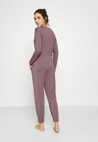 Calvin Klein Underwear - PERFECTLY FIT FLEX JOGGER - Pyjama bottoms - plum dust - 2