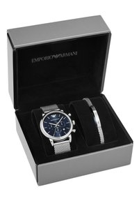 Emporio Armani - Chronograph watch - silver - 3