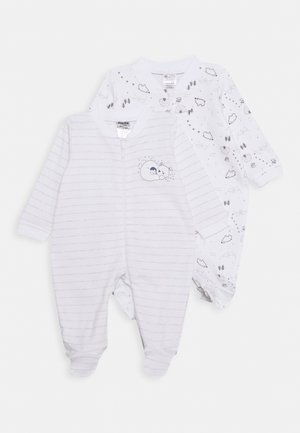 2 PACK - Pyjamas - white