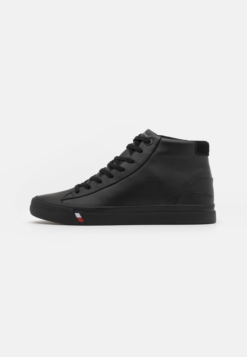 Tommy Hilfiger - CORPORATE  - Sneaker high - black