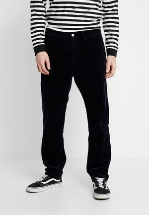 NEWEL - Trousers - dark navy rinsed