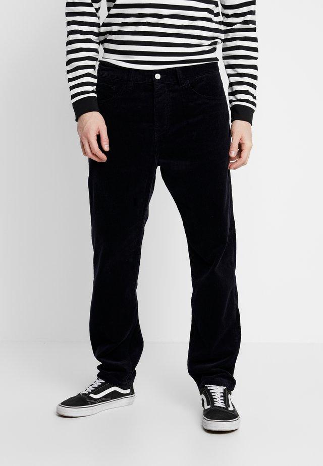NEWEL - Pantalon classique - dark navy rinsed