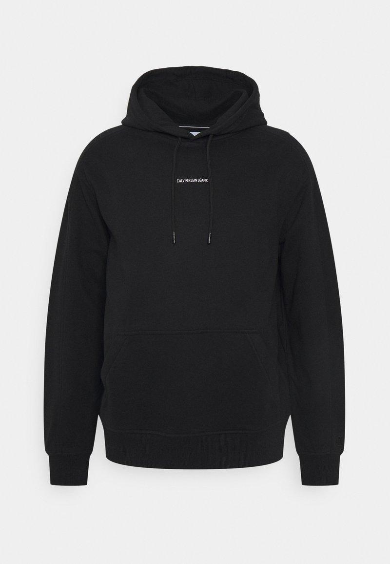 Calvin Klein Jeans - MICRO BRANDING - Luvtröja - black