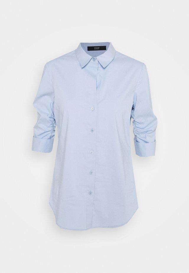 LIZA ESSENTIAL BLOUSE - Button-down blouse - sky blue