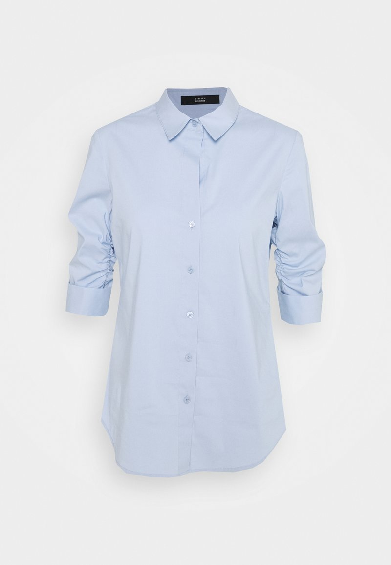 Steffen Schraut - LIZA ESSENTIAL BLOUSE - Button-down blouse - sky blue