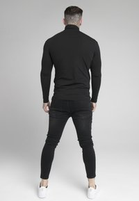 SIKSILK - ROLL NECK - Langarmshirt - black